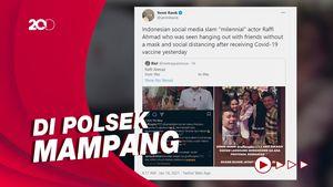 Polisi Minta Raffi Ahmad Klarifikasi soal Pesta Usai Divaksin