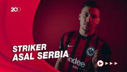 Tinggalkan Real Madrid, Luka Jovic Kembali ke Frankfurt