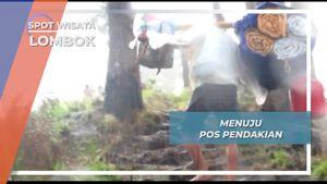 Saat Hujan Menyapa Mie Instan Solusinya Pos 3 Gunung Rinjani Lombok