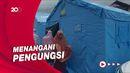 Gempa Sulbar, Kemensos Bangun 7 Tenda dan Dapur Umum