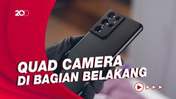 Hands-on Galaxy S21 Ultra Harga Rp 22 Juta