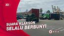Ramai Truk Kontainer, Simpang JICT Jakarta Tak Ada Traffic Light