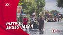 Penampakan Banjir di Kalsel, Lebih 20 Ribu Orang Dievakuasi
