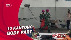 9 Hari Pencarian Korban Sriwijaya Air, 308 Kantong Jenazah Terkumpul