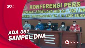 RS Polri Telah Terima 188 Kantong Jenazah Korban Sriwijaya Air