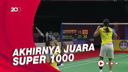 Kalahkan Tuan Rumah, Greysia/Apriyani Juara Thailand Open 2021