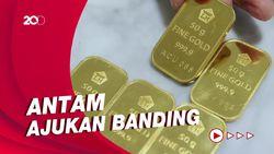 Warga Surabaya Gugat Antam Bayar 1,1 Ton Emas