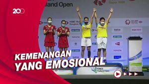 Suka Duka Greysia Polii Juara Thailand Open 2021