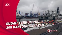Masuki Hari Ke-10 Operasi SAR SJ182, Temuan Evakuasi Makin Sedikit