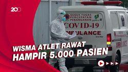 Warning! Kasur untuk Pasien Corona di RSD Wisma Atlet Sisa 1.035