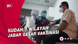 Ridwan Kamil Sebut Warga yang Ditunjuk Vaksinasi Tak Semuanya Hadir