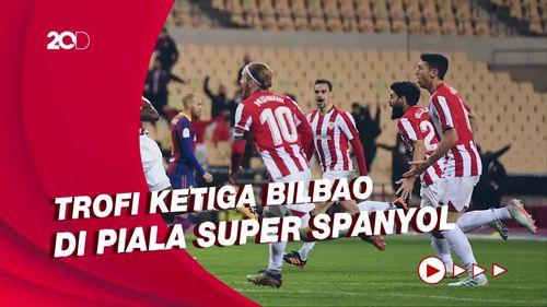 Kalahkan Barcelona, Athletic Bilbao Juara Piala Super Spanyol!