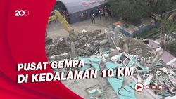 Gempa Kembali Guncang Majene Sulbar, Kali Ini Berkekuatan M 4,2