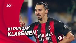 Ibrahimovic Jadi Bintang Kemenangan Milan Kala Bersua Cagliari