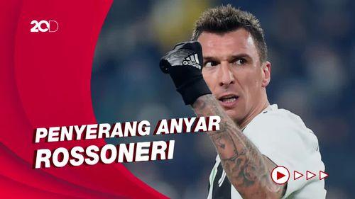 Nomor Keramat AC Milan untuk Mandzukic