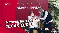 Tanggapan Satgas COVID-19 soal Viral Vaksinasi Jokowi Disebut Gagal