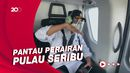 Saat Menhub Pantau Pencarian Korban Sriwijaya Air SJ182 Lewat Udara