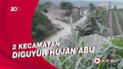 Melihat Jejak Hujan Abu Erupsi Gunung Merapi di Boyolali