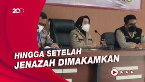 RS Polri Akan Dampingi Terus Keluarga Korban Sriwijaya Air SJ182