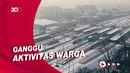 Badai Salju Menyelimuti Polandia
