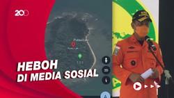 Viral Tanda SOS di Pulau Laki, Korban Sriwijaya Air?
