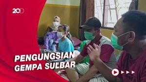 Jumlah Pengungsi Gempa Sulbar yang Diungsikan di Sulsel Jadi 107 Orang