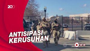 Intip Latihan Garda Nasional Jelang Pelantikan Joe Biden