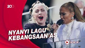 Penampilan Memukau Lady Gaga dan J.Lo di Pelantikan Presiden AS