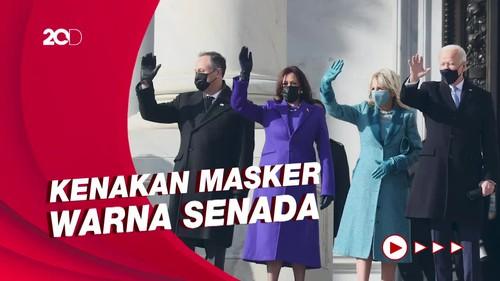Gaya Jill Biden dan Kamala Harris di Pelantikan Presiden AS
