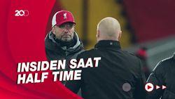 Detik-detik Klopp Cekcok dengan Manajer Burnley