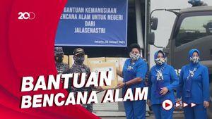 KRI Banda Aceh Angkut 5 Ton Bantuan ke Sulbar-Kalsel