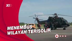 Lewat Udara, CT ARSA Kirim Bantuan ke Wilayah Terisolir Sulbar