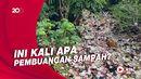 Sampah Penuhi Kali Baru Timur Depok Sampai Airnya Tak Terlihat