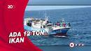 TNI AL Tangkap Kapal Ikan Taiwan di Perairan Natuna Utara
