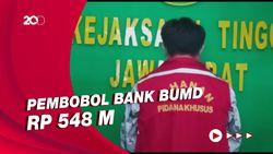 Eksekusi Pembobol Bank BUMD Rp 548 M ke Lapas Sukamiskin