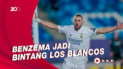 Benzema 2 Gol, Madrid Tundukkan Deportivo Alaves 4-1
