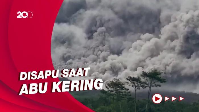 Vulkanolog Bagi-bagi Tips Cara Bersihkan Abu Vulkanik