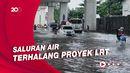 Banjir di Kelapa Gading Diduga Akibat Proyek LRT?