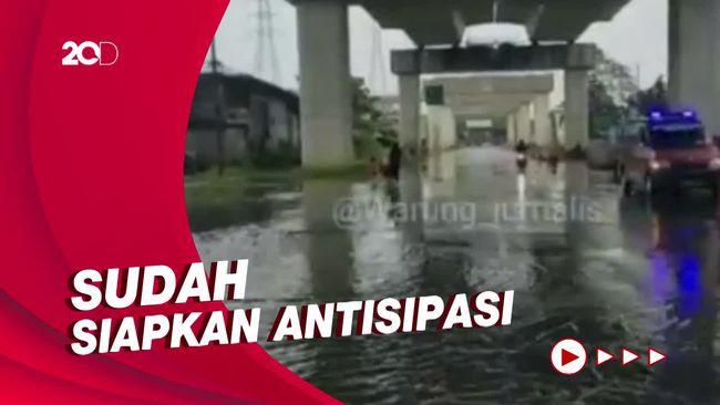 BPBD DKI: Pintu Air Pasar Ikan Jakut Siaga 2, Masih Posisi Aman