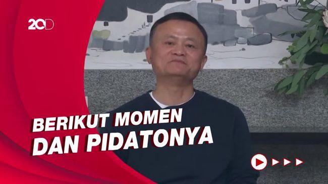 Jack Ma yang Kalem di Kemunculan Perdananya Usai Menghilang