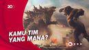 Duel Godzilla vs. Kong yang Bikin Netizen Tegang