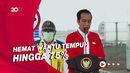 Sah! Jokowi Resmikan Jalan Tol Kayu Agung-Palembang