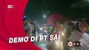 Demo Warga di Mojokerto Picu Kerumunan Buruh