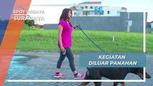 Selain Cantik dan Berprestasi, Delie Juga Rajin Berolahraga, Surabaya