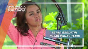 Konsisten Berlatih Panahan Demi Mencapai Target, Surabaya