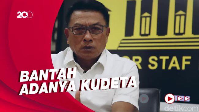 Moeldoko Bantah Kudeta AHY: Jadi Pemimpin Jangan Baperan!