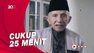 Bikin Petisi Tewasnya Laskar FPI, Amien Rais Ingin Ketemu Jokowi