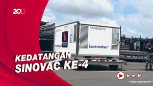 Momen Kedatangan 10 Juta Vaksin Sinovac di Indonesia