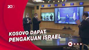 Kosovo-Israel Resmi Jalin Hubungan Diplomatik