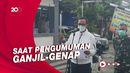 Perjuangan Kameraman Demi Terwujudnya Ganjil-Genap di Bogor